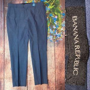 Banana Republic Ryan Fit Wool Dress Pants Size 4P